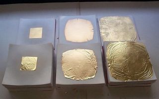 Изготовление и использование сусального золота в современном мире и особенности производства