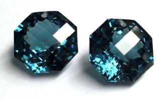 Камень топаз swiss blue (лондон блю): натуральный минерал или нет