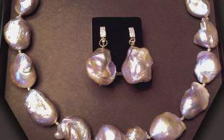 Барочный жемчуг: украшения в стиле барокко, какой вид имеют барочные жемчужины