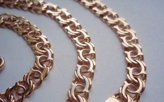 Плетение бисмарк в таких изделиях, как цепочка и браслет, фото