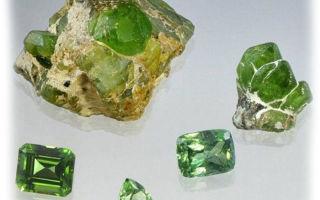 Лечебные и магические свойства хризолита, фото камня, легенды связанные с ним, добыча камня и особенности ухода за ним