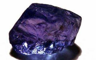 Танзаит: свойства уникального камня, особенности применения и цена минерала