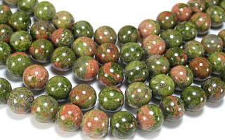 Унакит — идеальный лечебный и магический камень, свойства которого используются знаками зодиака