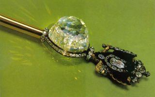 Алмаз «орлов» его происхождение и история, подарок графа для екатерины, тайны чёрного бриллианта