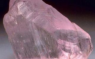 Кунцит — свойства камня, минерал сподумен, в чем и кому помогает