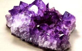 Камень аметист, его описание и фото: история происхождения минерала и описание способов создания искусственного аметиста