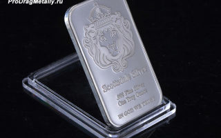 Изделия и слитки из серебра 999 пробы — цены за грамм, особенности покупки и хранения в банке