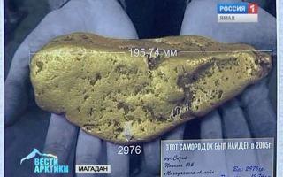 О добыче золота в Магадане — районы разработки месторождений и ювелирное обозрение региона