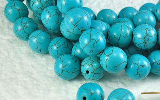 Полудрагоценный камень бирюза и его магические свойства