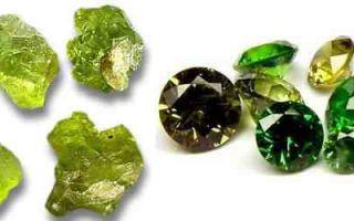 Камень хризолит: магические и лечебные свойства камня, особенности выбора изделий с хризолитом