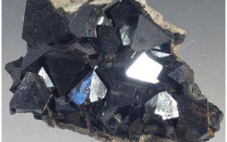 Основные характеристики магнетита (магнитного железняка) и размещение основных рудных бассейнов