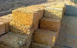 Ракушечник — просто осадочная порода или строительный камень с неисчерпаемыми возможностями?