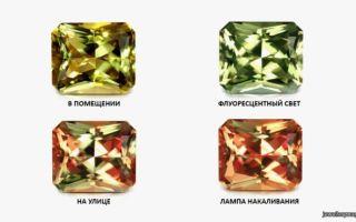 Камень диаспор: месторождение султанита, его свойства и характеристики
