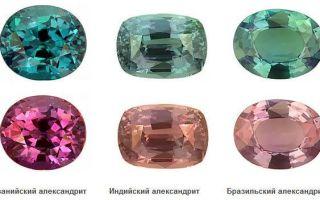 Синтетический и природный александрит: особенности и описание камня с урала, нюансы его стоимости