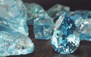 Аквамарин (aqamarine) — минерал группы бериллов, прозрачно-голубой кристалл, напоминающий цветов морскую воду