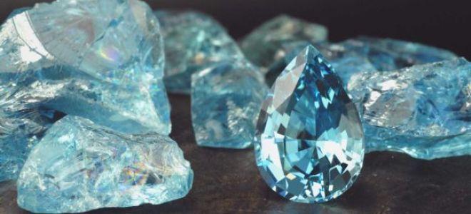 Аквамарин камень: фото, свойства и описание