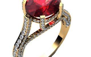 Кольца и перстни с рубином женские и мужские в обрамлении золота: это украшения и обереги их владельцев