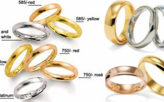 Химический состав белого золота 585 пробы