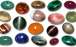 Что такое кабошоны: особенности обработки камня, разновидности форм кабошонов, способы применения