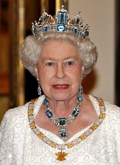 украшение английской королевы