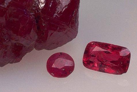 Искусственный рубин (синтетический)