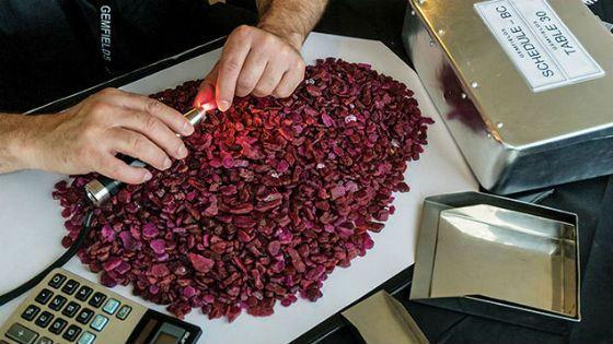 Как определяется качество рубина