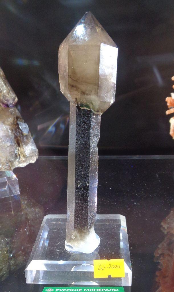 Скипетровидный кварц