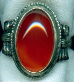 оранжевый камень